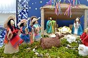 """El primer lugar lo consiguió la familia Gutiérrez – Covarrubias, de Rockville, Maryland,  con la creación """"La gran fiesta del Nacimiento de Jesús."""""""
