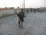 Ruben Gallego en Irak en 2005