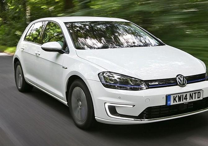 Volkswagen presentar un nuevo e golf para comenzar su for Motores y vehiculos nj