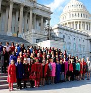 Las mujeres Demócratas de la Cámara de Representantes del 115 Congreso