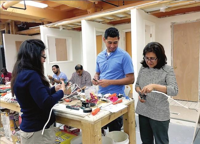 Clases de college para inmigrantes