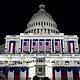 Una vista del Capitolio de los E. antes de la inauguración