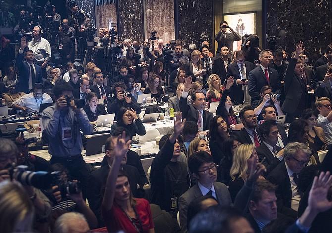 Trump planea restringir el acceso de la prensa a los bailes inaugurales oficiales