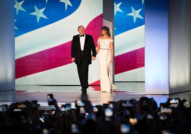 Ralph Lauren y Harvé Pierre vistieron a la Primera Dama Melania Trump
