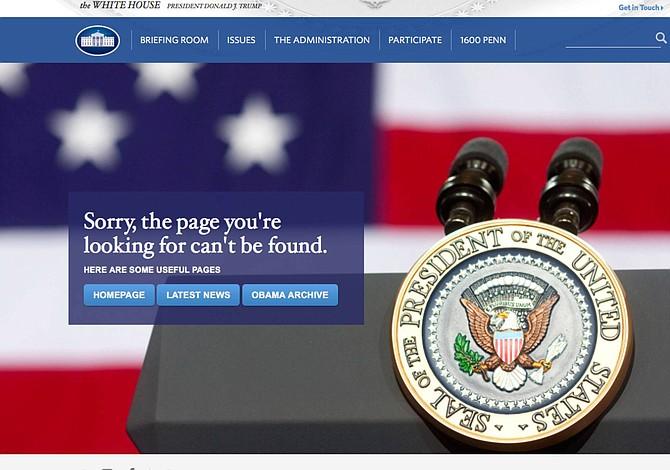 Prometen restablecer el sitio web en español de la Casa Blanca