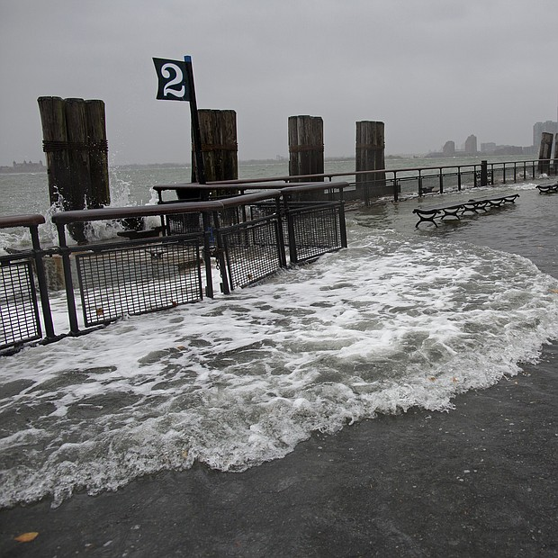 NJ tras el huracán Sandy.