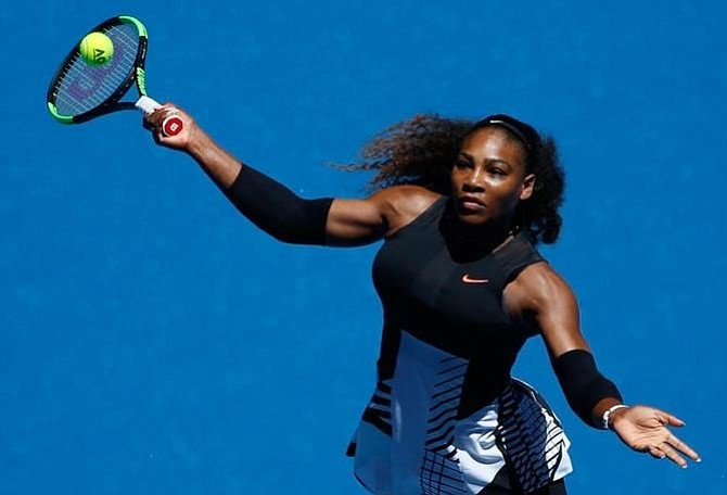 Serena Williams avanzó a ronda de cuartos de final en Australia