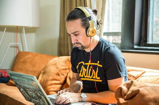 Lin-Manuel Miranda te invita al estreno de Hamilton en Los Angeles