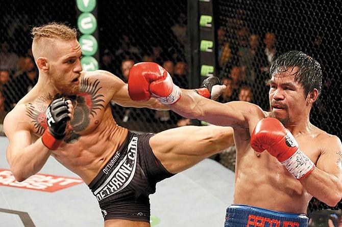 Pacquiao sí quiere pelea con McGregor