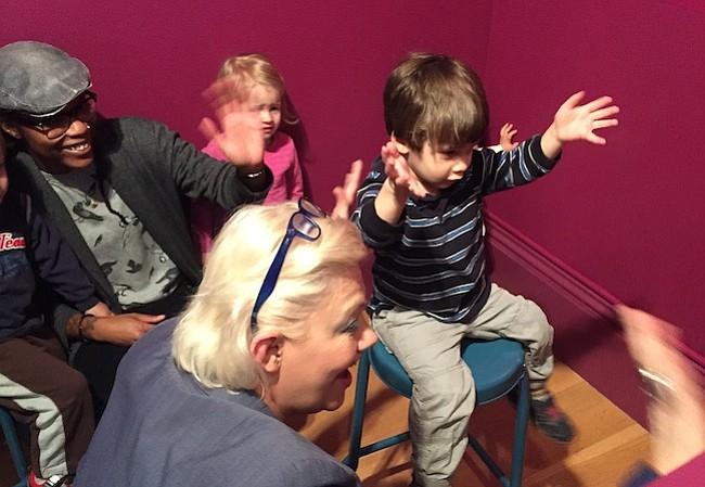 Primer espacio dedicado a los niños en la Galería Nacional de Retratos
