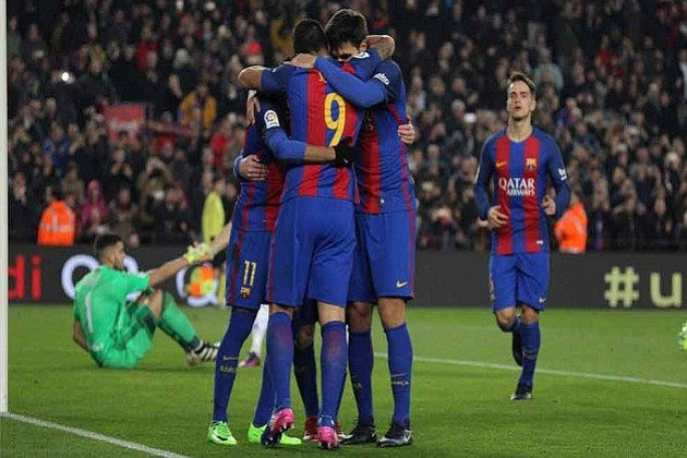 Atlético de Madrid - Barcelona y Celta - Alavés, en semifinales de Copa del Rey