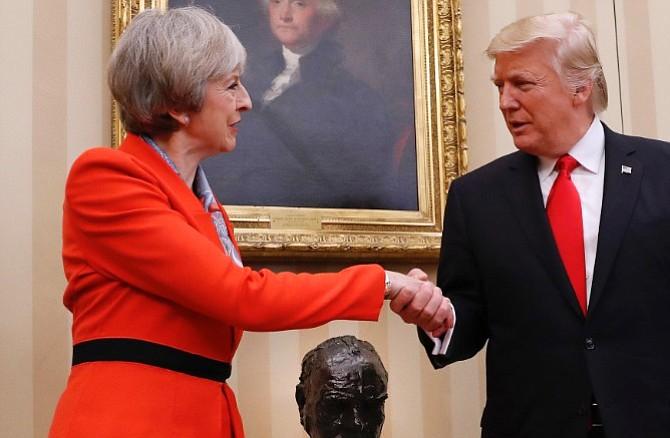 Trump y May reforzaron su relación especial
