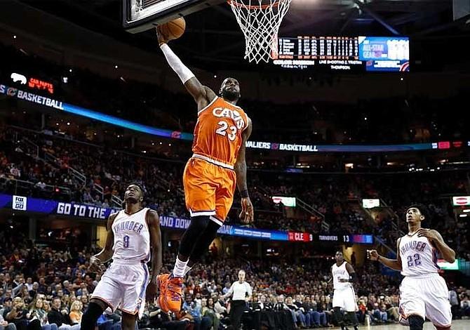 LeBron James hace historia al anotar 20 mil puntos con los Cavaliers