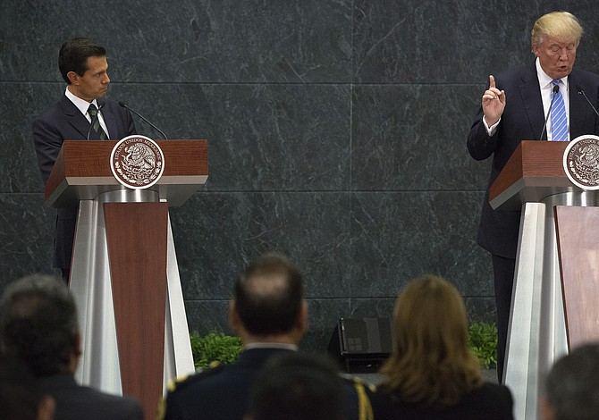 Trump no amenazó con guerra a México