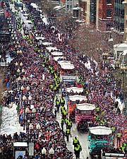 Desfile de los Patriots en 2015