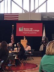 Presidenta de Bunker Hill Community College Pam Eddinger