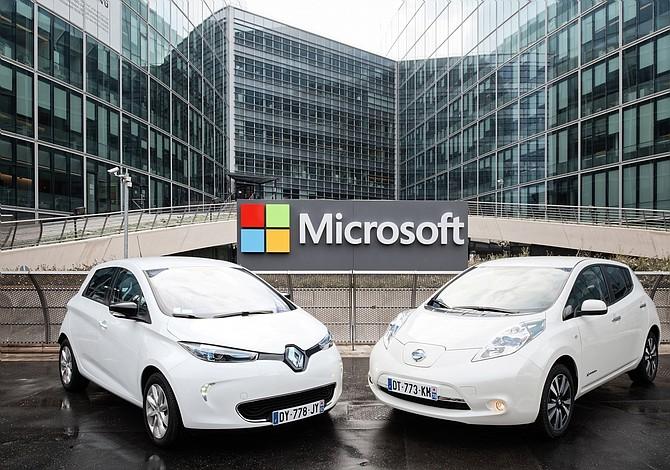 Renault-Nissan firma un acuerdo con Microsoft a nivel global