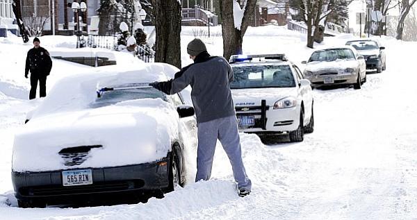 Una ciudad de Massachusetts recibió 31 pulgadas de nieve