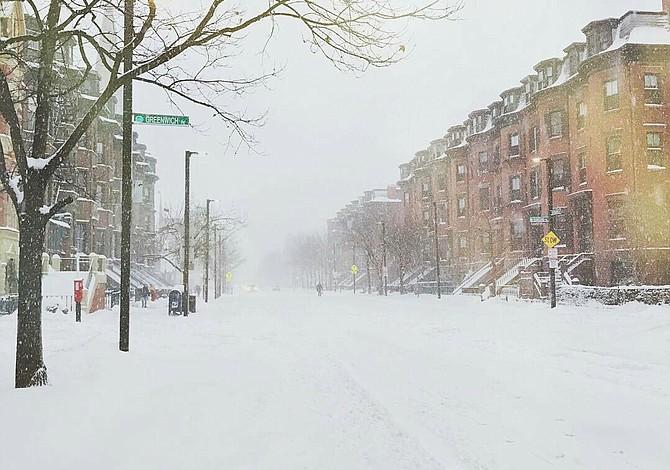 Fotos de la tormenta Niko en Boston