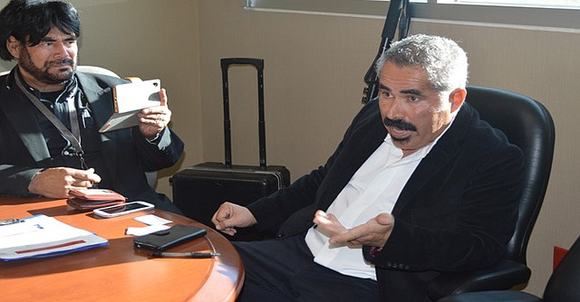 Álvaro La Rue anticipó que harán un reconocimiento al ex jefe de policía, David Bejarano. Foto-Cortesía: Horacio Rentería/El Latino San Diego.