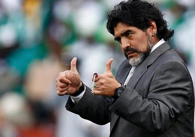 Maradona no golpeó a su novia durante discusión