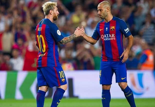"""Mascherano no ve a Messi """"en otro equipo"""" que no sea el Barcelona"""