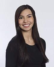 ARTISTA. La patinadora mexicana Laura Chávez.