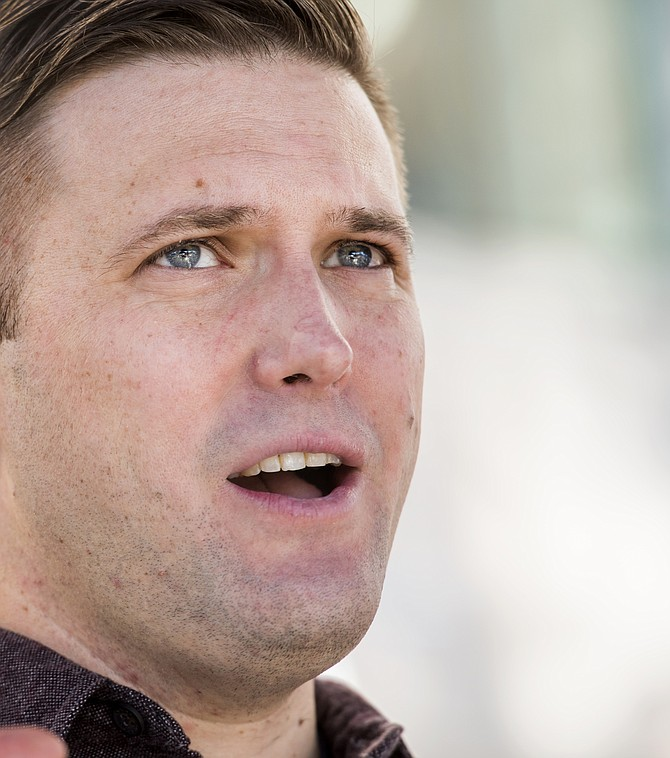 Richard Spencer, miembro del movimiento blanco nacionalista.