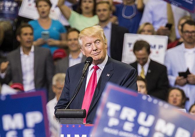 Trump quiere llevar directamente al pueblo su mensaje en Florida