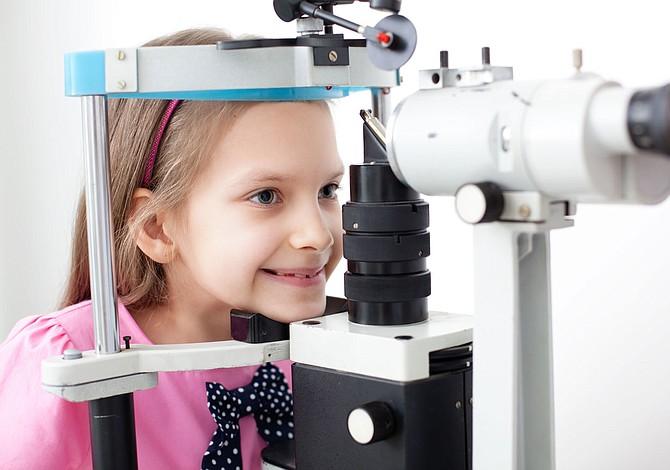 Preste atención a la vista de los niños