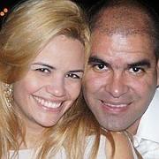 Samark López Bello junto a su esposa, Loisinette Leiva
