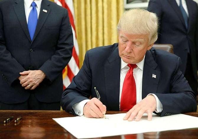 Trump jura que llevará a la Corte Suprema su pelea contra las ciudades santuario