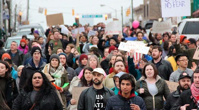 Las protestas en Filadelfia fueron multitudinarias
