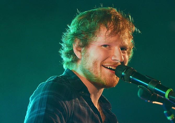 Ed Sheeran, el más escuchado en Spotify