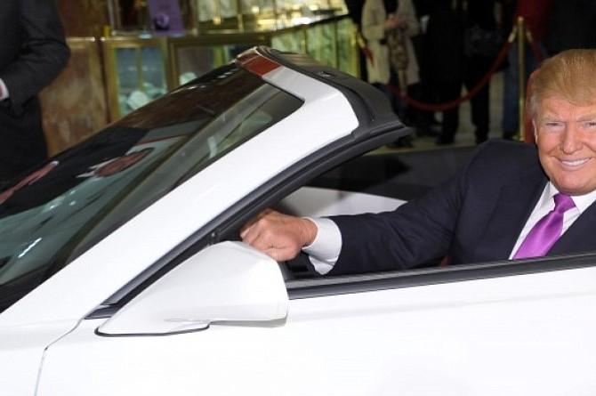 Conozca los 5 autos preferidos por Donald Trump