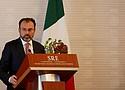 Altos funcionarios de México y EEUU se reunieron en la capital mexicana