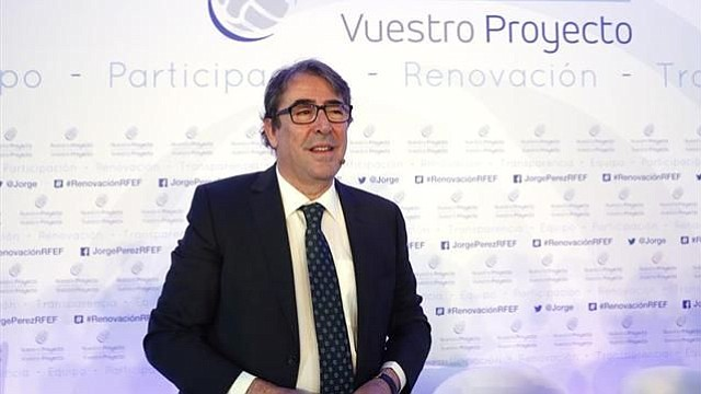 "Jorge Pérez: ""No se por dónde va a salir Villar, pero tampoco me preocupa"""