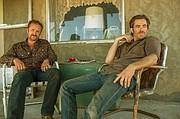 """Ben Foster, izquierda, y Chris Pine en """"Hell or High Water."""""""