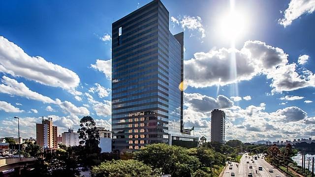 Oficinas de Odebrecht en Sao Paulo, Brasil.