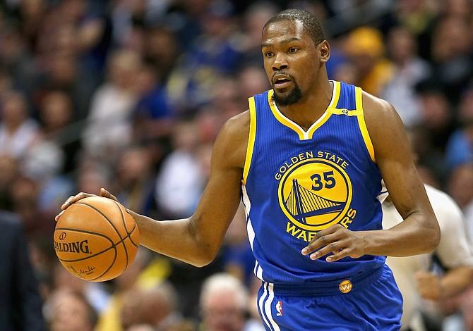 Kevin Durant será baja al menos 4 semanas por lesión de rodilla