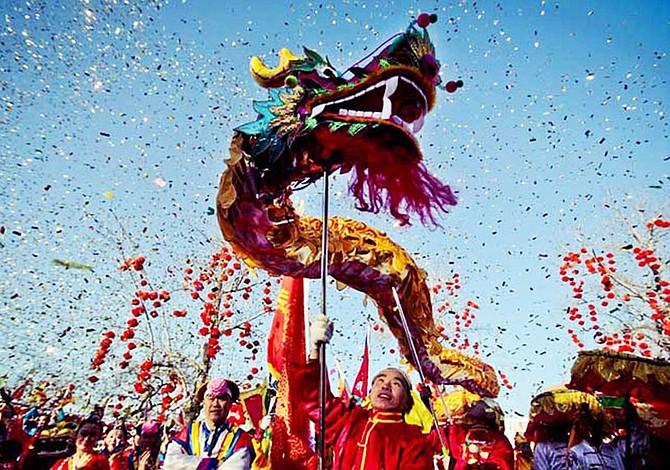 ¡A celebrar el año nuevo chino!