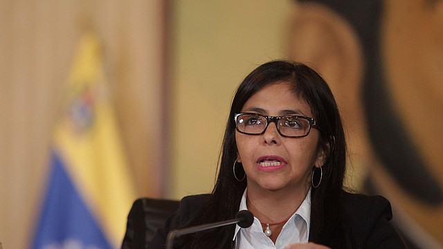 VENEZUELA. Delcy Rodríguez es una figura clave dentro del régimen de Nicolás Maduro. | Foto: archivo.