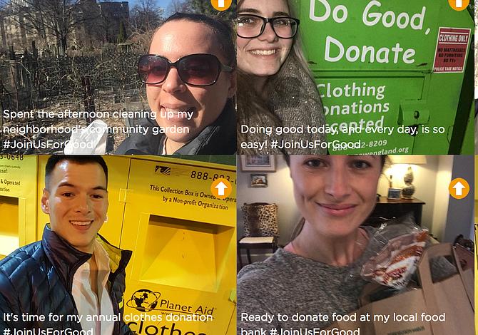 """Tómate un """"selfie"""" haciendo una buena obra y concursa para ganarte $200"""