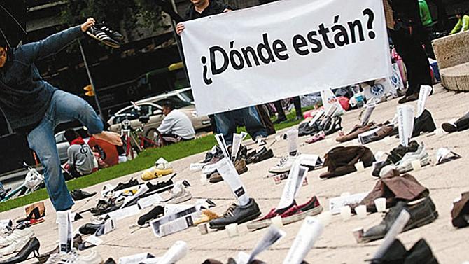 Más de 30 mil mexicanos han desaparecido en todo el país