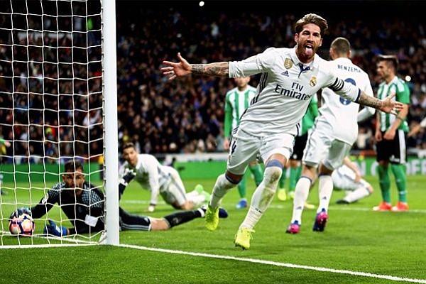 Real Madrid ganó al Betis este domingo