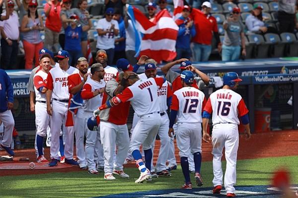 Puerto Rico venció a Italia y avanzó invicto en el Clásico Mundial de Béisbol