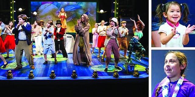 ARTISTAS. Niños, jóvenes y adultos disfrutan de un enriquecedor ambiente cultural en el centro Imagination Stage.