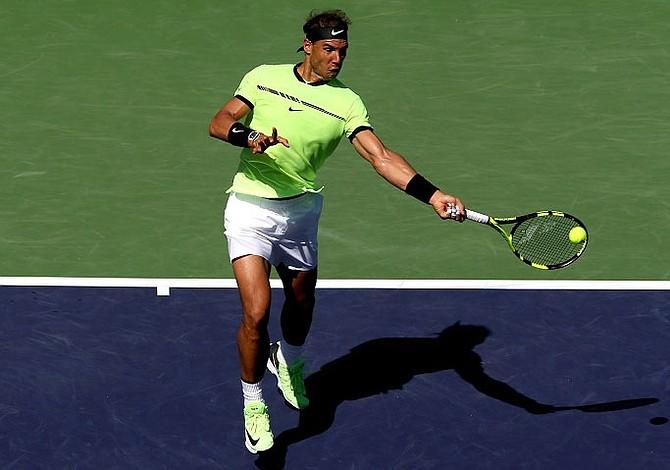 Nadal superó a Verdasco y alcanzó tercera ronda en Indian Wells
