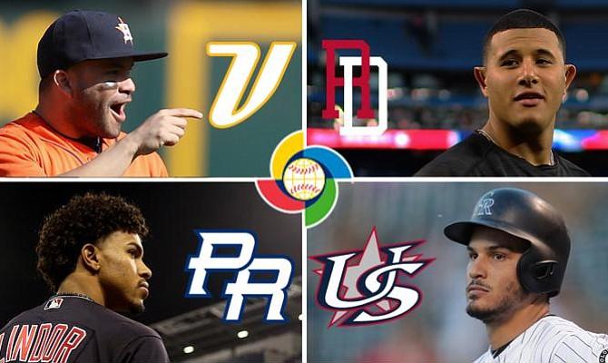 Un firmamento de estrellas protagonizan la segunda ronda del Clásico Mundial de Béisbol
