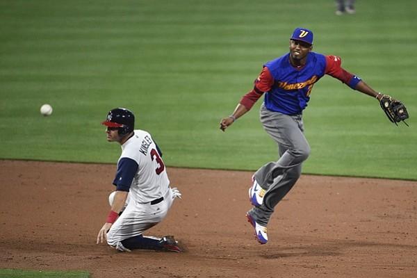 Venezuela cayó ante Estados Unidos en el Clásico Mundial de Béisbol